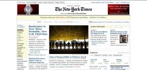 New York Times - Edición mundial (con IHT)