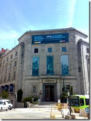 Casa de las Artes de Vigo, sede de la exposición, el pasado jueves 21