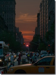 Manhattan Solstice by (michelle)
