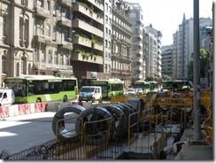 """Vehículos """"celebrando"""" el Día Mundial Sin Coches en Vigo"""