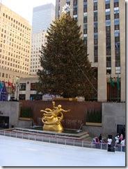 Árbol navideño de Rockefeller Center el 3 de enero de 2009