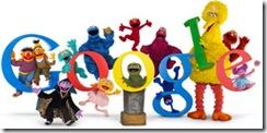 Homenaje de Google a Sesame Street