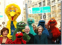 Calle honorífica de Sesame St en Nueva York - © Stawiarz/Getty Images