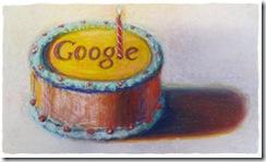 Feliz Cumpleaños Google