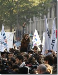 Puño en Alto / Françoise Mori (AP)