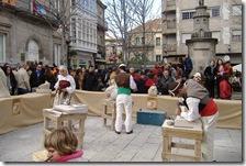 Mercadillo antiguo en la Fiesta de la Reconquista en 2009