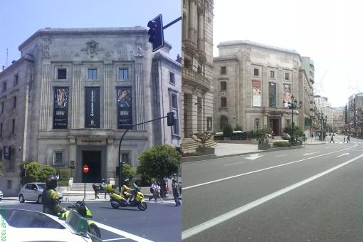 Casa das Artes en 2007 y 2013